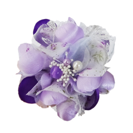 Gardenia Collar Flower - Purple