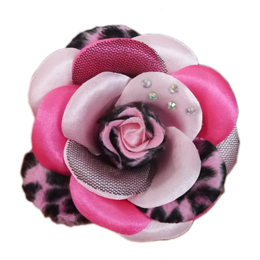 Scarlett Collar Flower - Pink