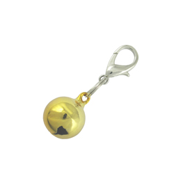 Bell Charm - Gold