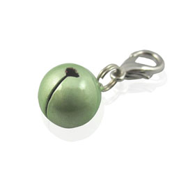 Bell Charm - Green