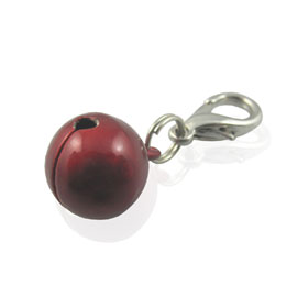 Bell Charm - Red