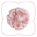 Jolie Collar Flower - Dusty Rose