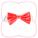 Red Satin Bow Tie